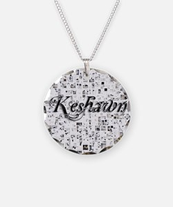 Keshawn, Matrix, Abstract Ar Necklace