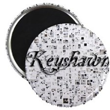 Keyshawn, Matrix, Abstract Art Magnet