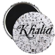 Khalid, Matrix, Abstract Art Magnet