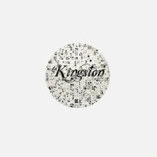 Kingston, Matrix, Abstract Art Mini Button