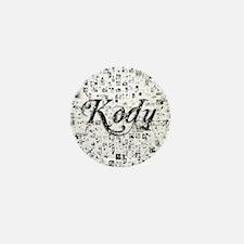 Kody, Matrix, Abstract Art Mini Button