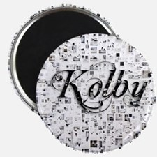 Kolby, Matrix, Abstract Art Magnet