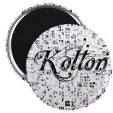 Kolton, Matrix, Abstract Art Magnet
