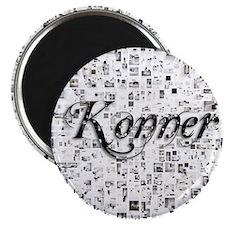 Konner, Matrix, Abstract Art Magnet