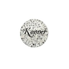 Konner, Matrix, Abstract Art Mini Button