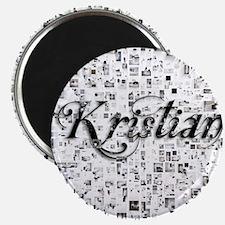 Kristian, Matrix, Abstract Art Magnet