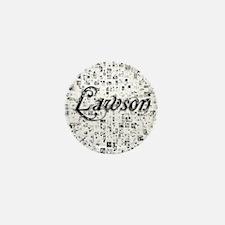 Lawson, Matrix, Abstract Art Mini Button