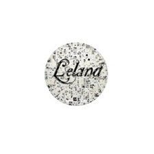 Leland, Matrix, Abstract Art Mini Button