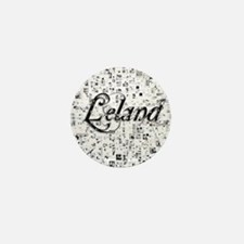 Leland, Matrix, Abstract Art Mini Button