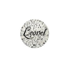 Leonel, Matrix, Abstract Art Mini Button