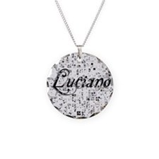 Luciano, Matrix, Abstract Ar Necklace