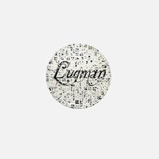 Luqman, Matrix, Abstract Art Mini Button