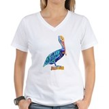 Pelican Womens V-Neck T-shirts