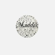 Maddox, Matrix, Abstract Art Mini Button