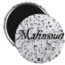 Mahmoud, Matrix, Abstract Art Magnet