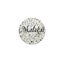 Malakai, Matrix, Abstract Art Mini Button