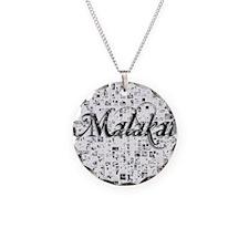 Malakai, Matrix, Abstract Ar Necklace