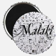 Malaki, Matrix, Abstract Art Magnet
