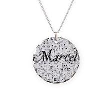 Marcel, Matrix, Abstract Art Necklace