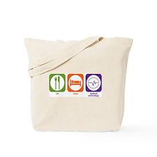 Eat Sleep Medical Technology Tote Bag