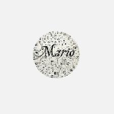 Mario, Matrix, Abstract Art Mini Button