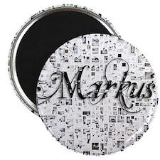 Markus, Matrix, Abstract Art Magnet