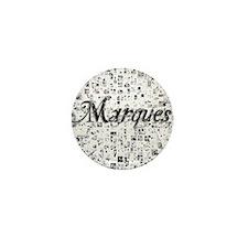 Marques, Matrix, Abstract Art Mini Button