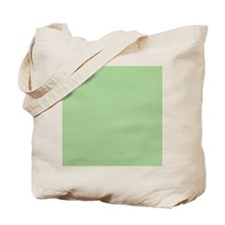 Pistachio plain Shower curtain Tote Bag