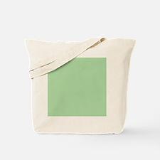 Pistachio plain Shower curtain Tote Bag