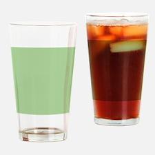 Pistachio plain Shower curtain Drinking Glass