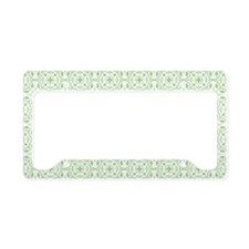 Amara Pistachio Beach Bag License Plate Holder