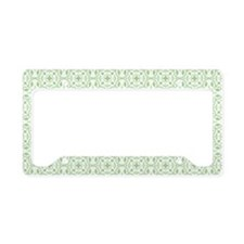 Amara Pistachio Toiletry Bag License Plate Holder