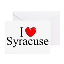 """I Love Syracuse"" Greeting Cards (Pk of 10)"