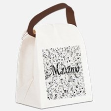Maximo, Matrix, Abstract Art Canvas Lunch Bag