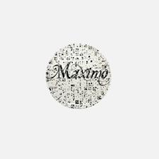 Maximo, Matrix, Abstract Art Mini Button
