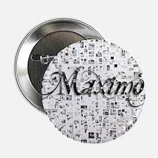 """Maximo, Matrix, Abstract Art 2.25"""" Button"""