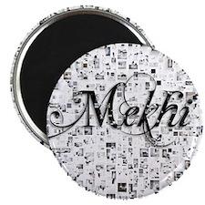 Mekhi, Matrix, Abstract Art Magnet