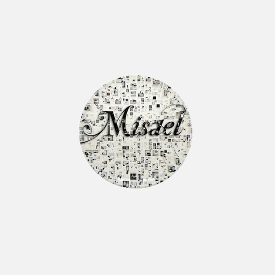 Misael, Matrix, Abstract Art Mini Button