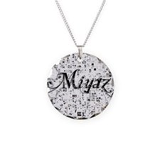 Miyaz, Matrix, Abstract Art Necklace