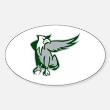 Chicago Griffins Oval Decal