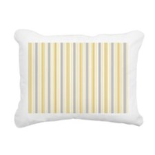 Amber Stripe Duvet King Rectangular Canvas Pillow