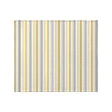 Amber Stripe Duvet King Throw Blanket