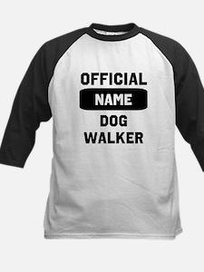 Official Insert Name Dog Walker Tee
