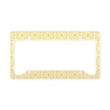 Amara Amber Beach Bag License Plate Holder