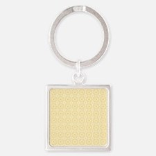 Amara amber Shower curtain Square Keychain