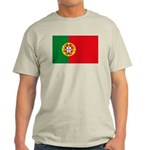 Portugal Flag, Portuguese Fla Light T-Shirt