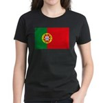 Portugal Flag, Portuguese Fla Women's Dark T-Shirt