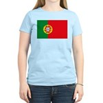 Portugal Flag, Portuguese Fla Women's Light T-Shir