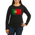 Portugal Flag, Portuguese Fla Women's Long Sleeve