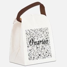 Omarion, Matrix, Abstract Art Canvas Lunch Bag